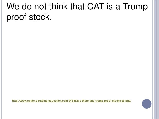 Are There Any Trump Proof Stocks to Buy? - 웹