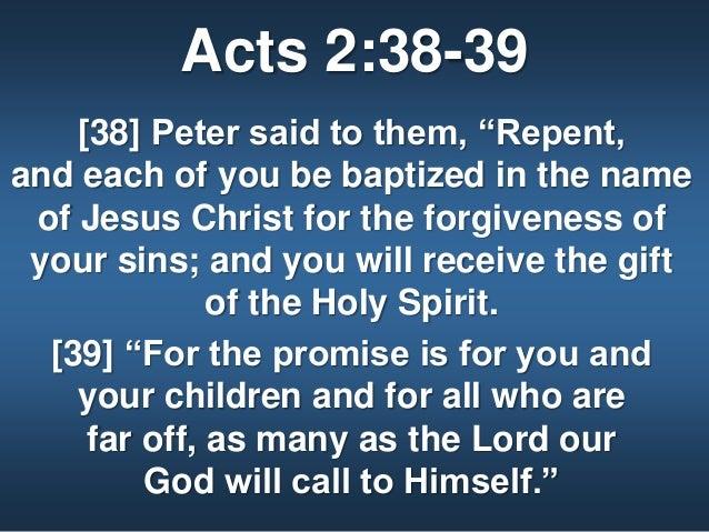Kuvahaun tulos haulle Acts 2:38