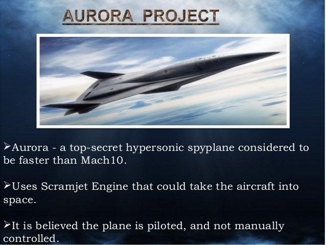 Aurora Plane Footage
