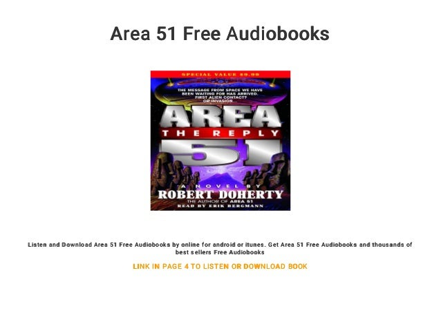 Area 51 Free Audiobooks