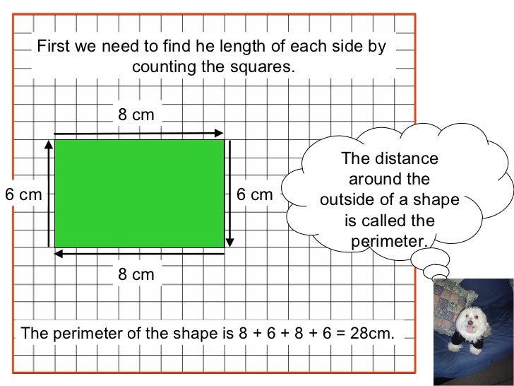 Area and perimeter Slide 2