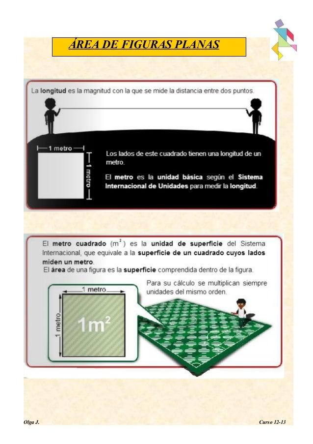 ÁREA DE FIGURAS PLANASOlga J. Curso 12-13