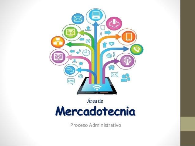 Áreade Mercadotecnia Proceso Administrativo