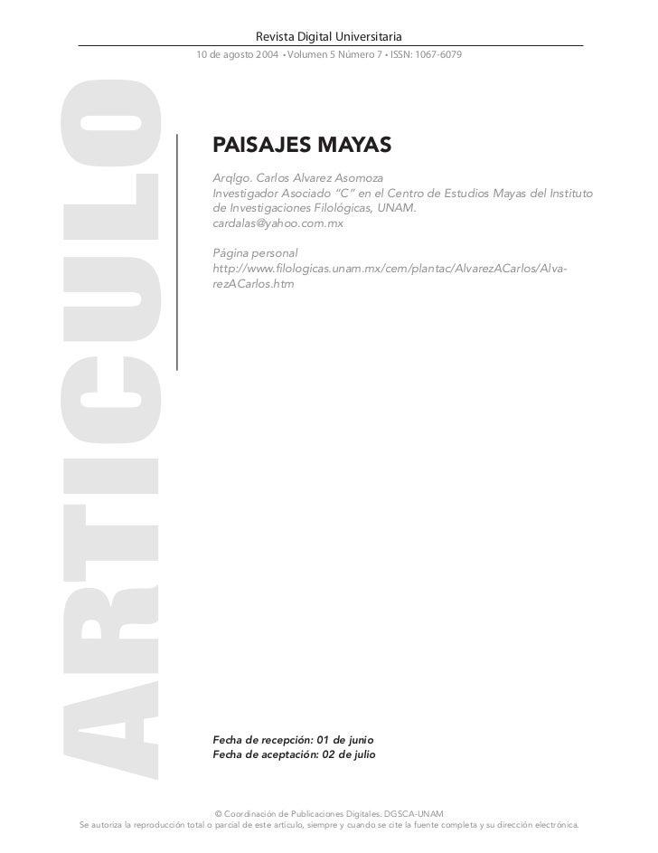 Revista Digital Universitaria                              10 de agosto 2004 • Volumen 5 Número 7 • ISSN: 1067-6079       ...