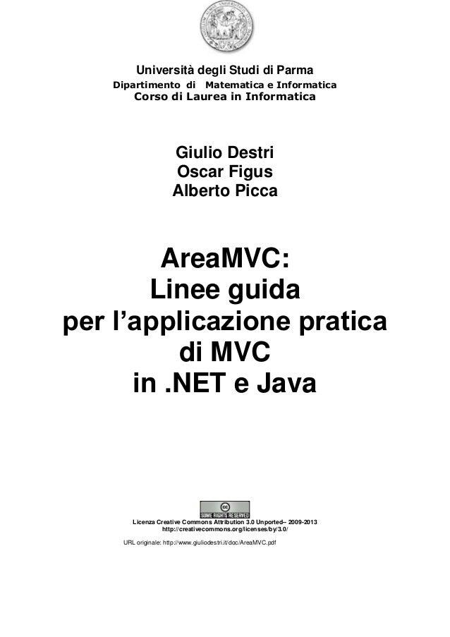Università degli Studi di Parma Dipartimento di Matematica e Informatica Corso di Laurea in Informatica Giulio Destri Osca...