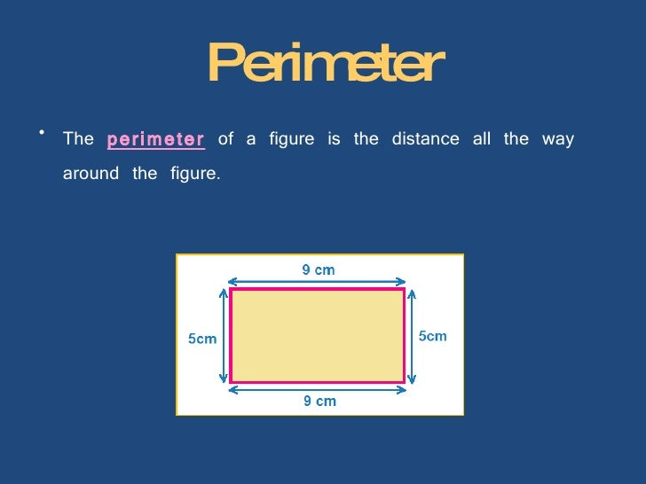 how to find the perimeter canada