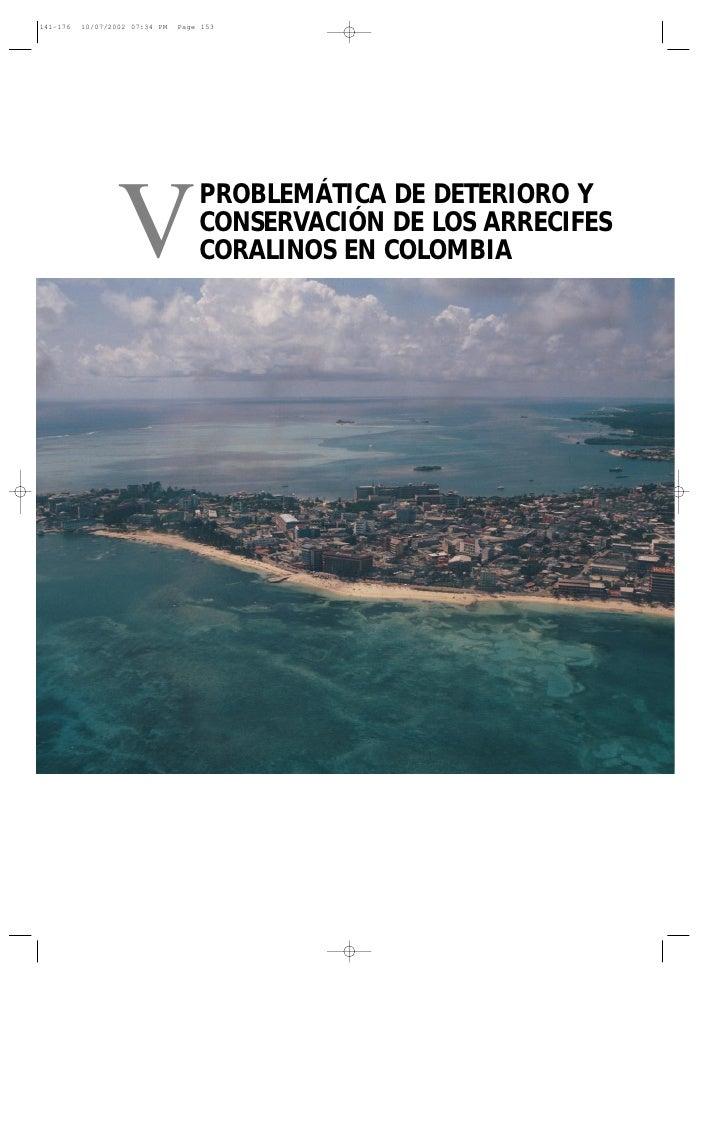 141-176   10/07/2002 07:34 PM   Page 153                  V                 PROBLEMÁTICA DE DETERIORO Y                   ...