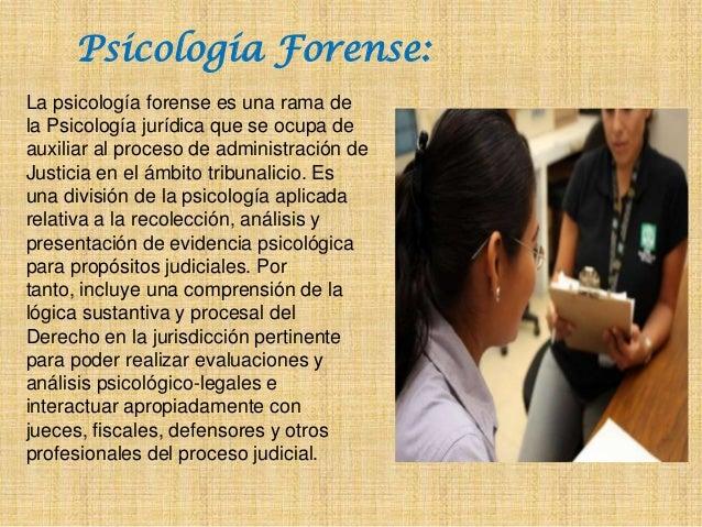 Areas de aplicacion de la psicologia