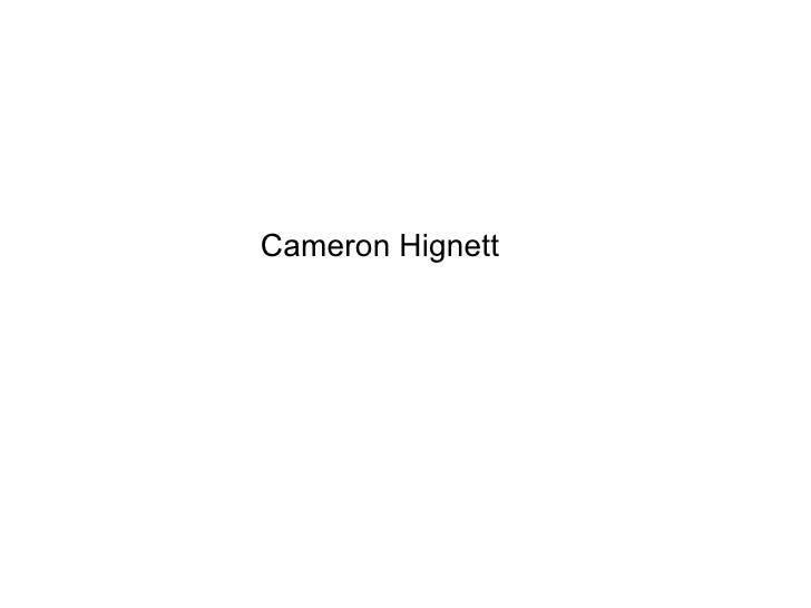 BTec Level 3Extended Diploma in Creative Media Production – Games Design                           Cameron Hignett