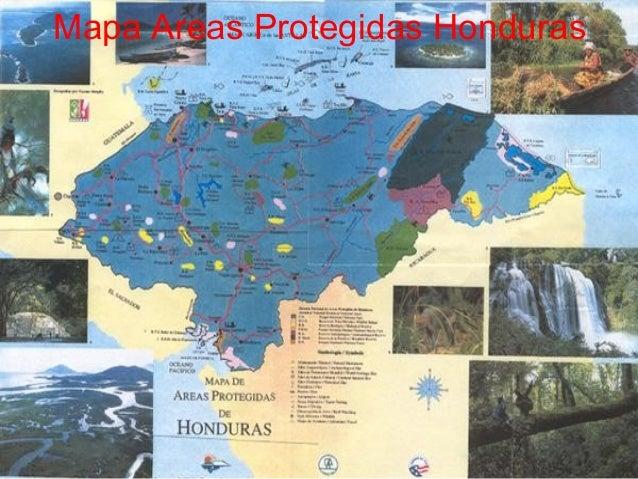 Areas protegidas Honduras