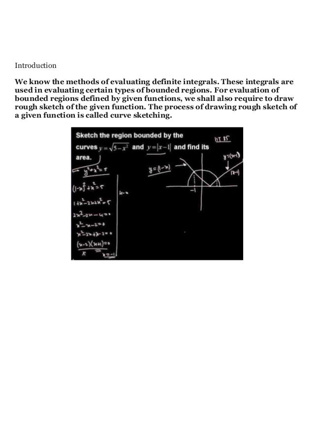 Introduction We know the methods of evaluating definite integrals. These integrals are used in evaluating certain types of...