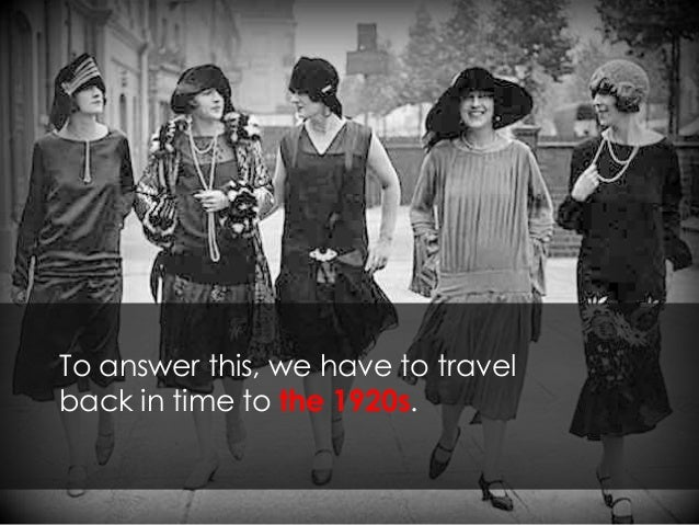 To answer this, we have to travel back in time to the 1920s.
