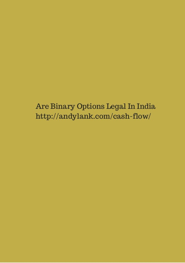 Binary option india legal