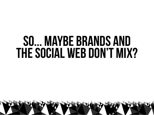 what do you mean by...    brands?