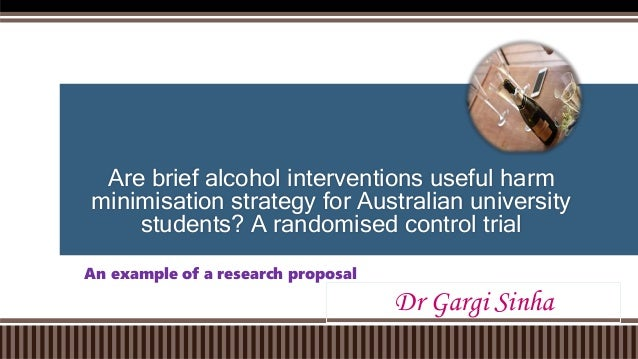 Are brief alcohol interventions useful harm minimisation strategy for Australian university students? A randomised control...