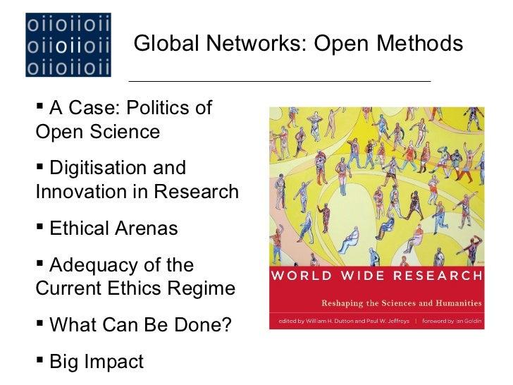 Global Networks: Open Methods Slide 2