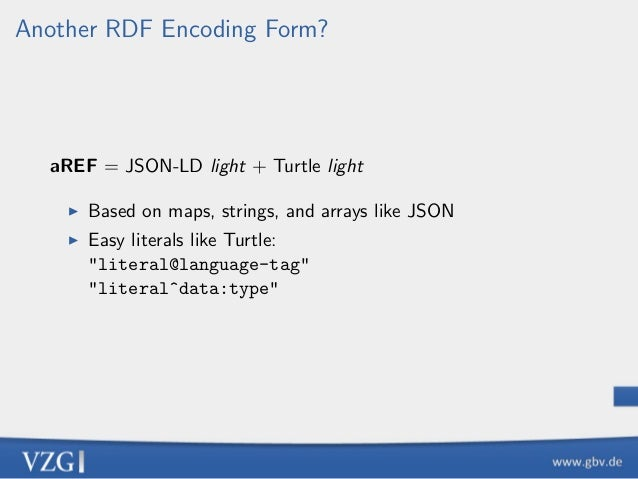 Another RDF Encoding Form Slide 2