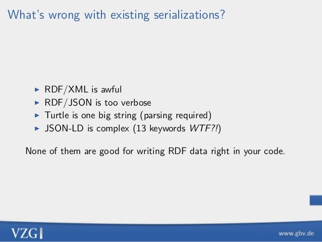 Another RDF Encoding Form Slide 3