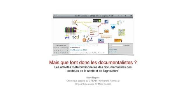 Aref 2013 documentalistes