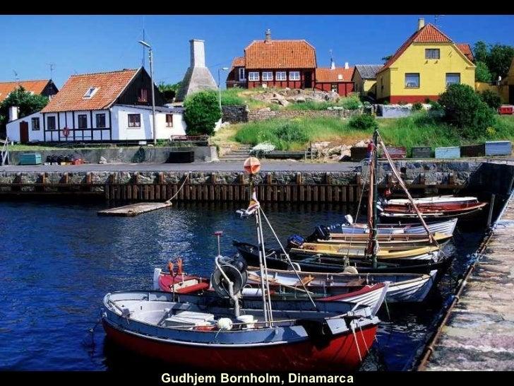 Gudhjem Bornholm, Dinamarca