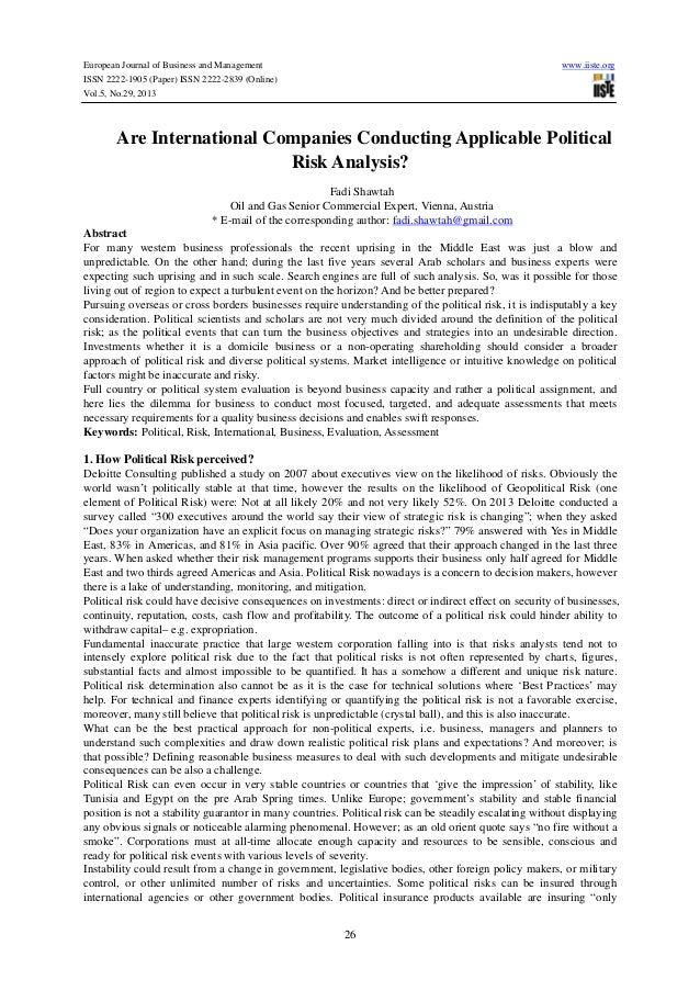 European Journal of Business and Management ISSN 2222-1905 (Paper) ISSN 2222-2839 (Online) Vol.5, No.29, 2013  www.iiste.o...