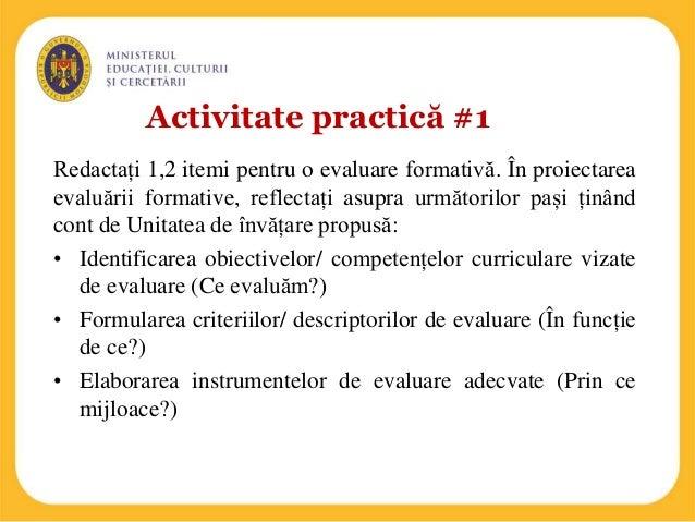 Exemple de feedback pentru elevi
