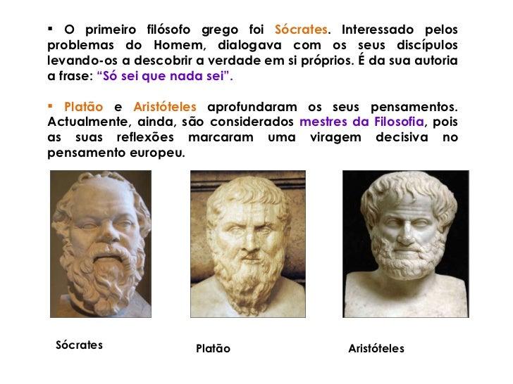 So Sei Que Nada Sei Frase De Socrates: A Religiao E A Cultura Na Grecia Antiga