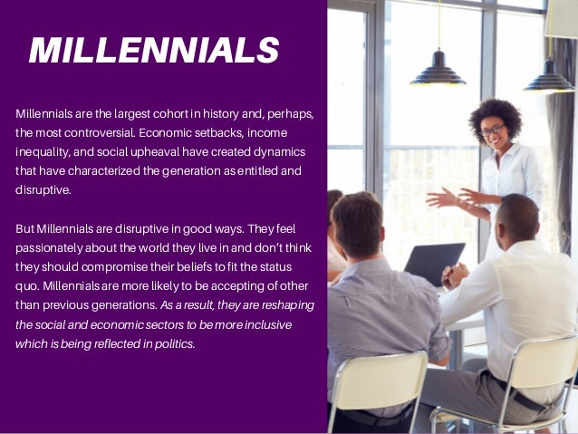 Jake Croman   Are Millennials Creating A More Equal Society? Slide 2