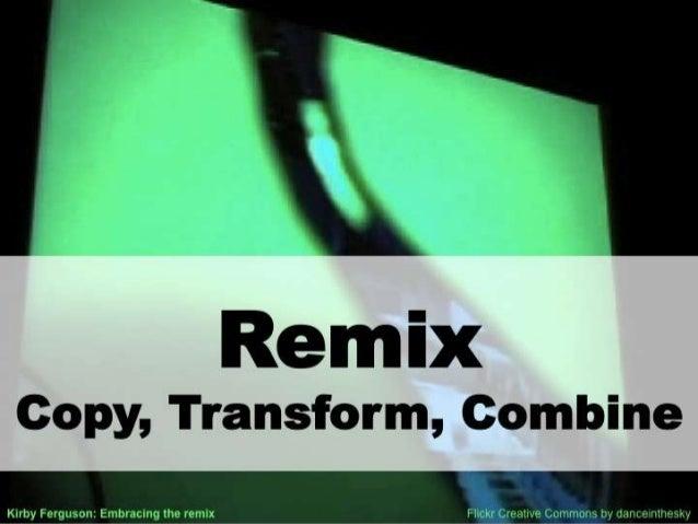Secrets Of The Remix Mashup YouTube Generation --No Video Version Slide 2