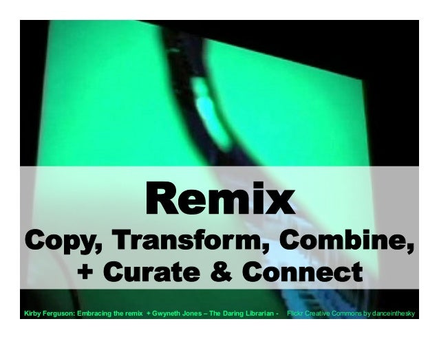 Secrets Of The Remix Mashup YouTube Generation - Video Version Slide 3