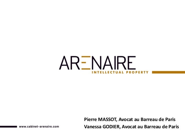 Pierre MASSOT, Avocat au Barreau de Paris Vanessa GODIER, Avocat au Barreau de Paris