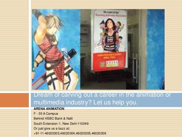Multimedia Institute In Delhi Animation Institute In Delhi Arena M