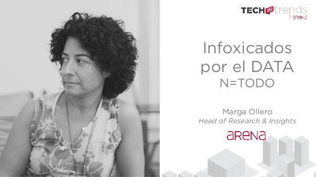Infoxicados por el DATA N=TODO Marga Ollero Head of Research & Insights