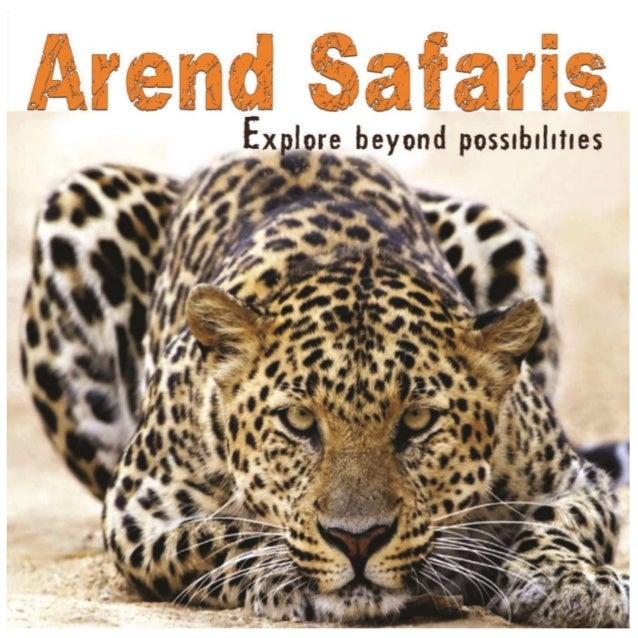 Arend Safari company