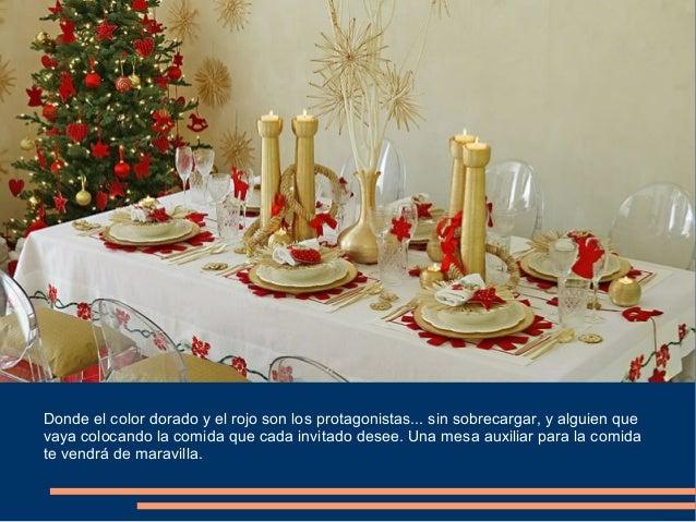 Arenera puenteareas ideas para decorar mesa de navidad - Ideas para decorar mesa navidad ...