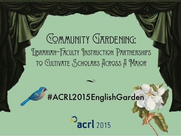 Community Gardening: