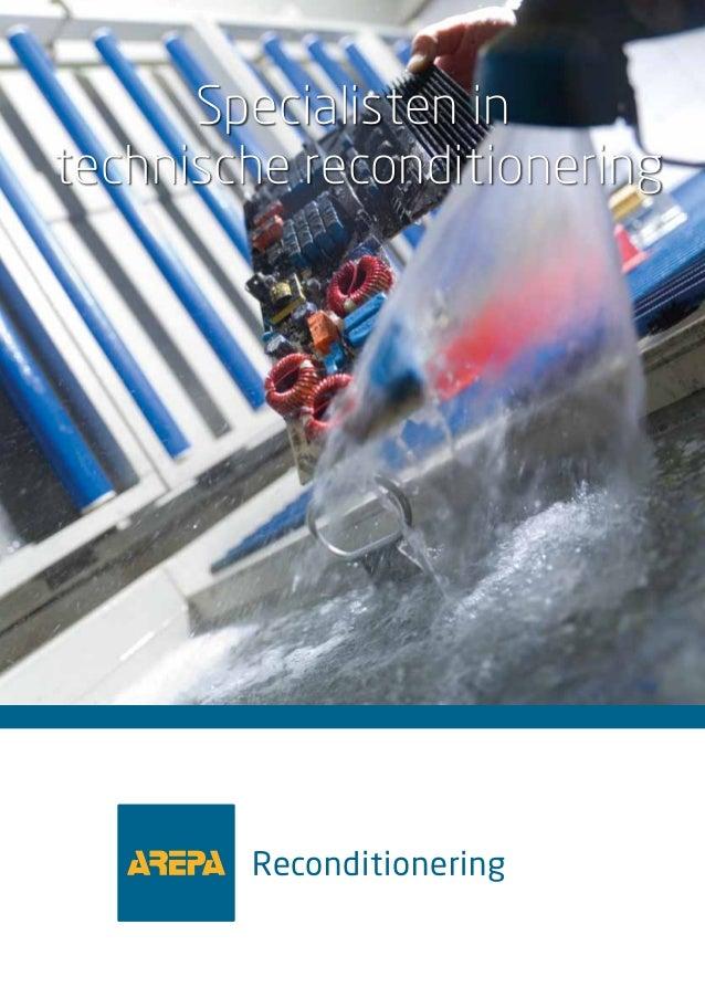 Specialisten in technische reconditionering  Reconditionering
