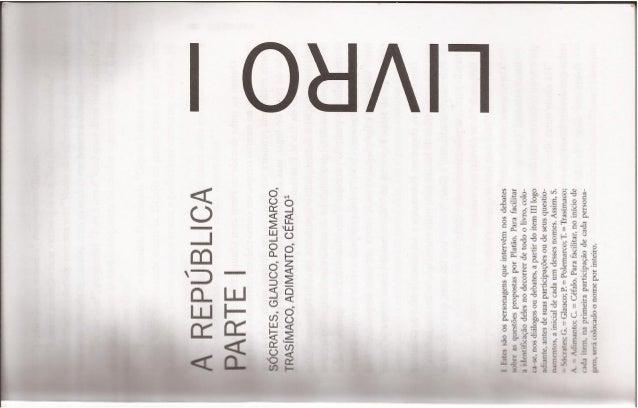 A República Platão livro I