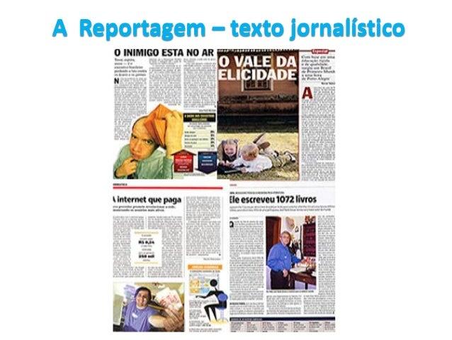 A Reportagem – texto jornalístico