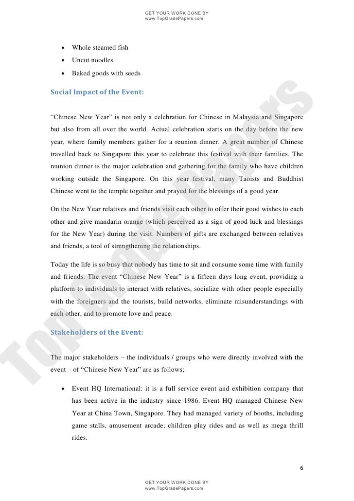 chinese new year essays paper
