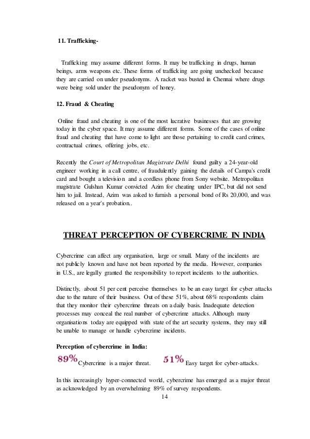 cyber crime dissertation topics