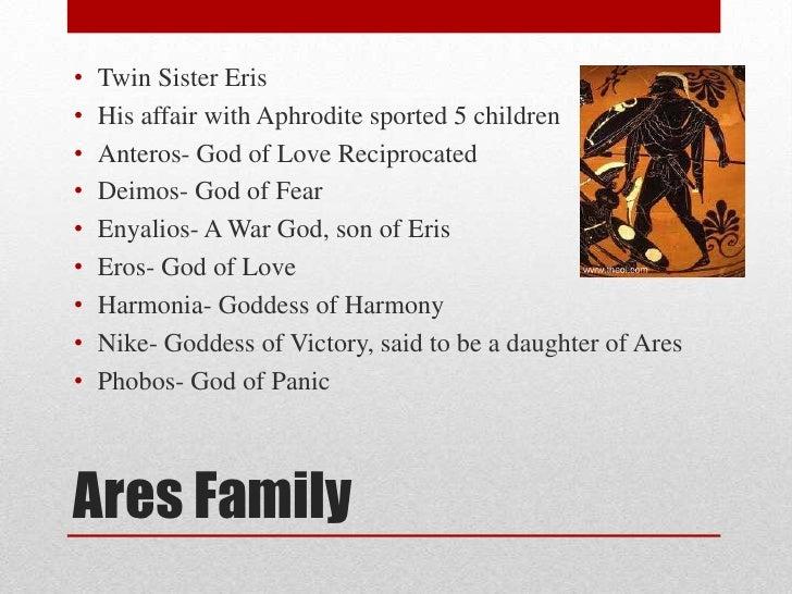 Who are eros parents greek god