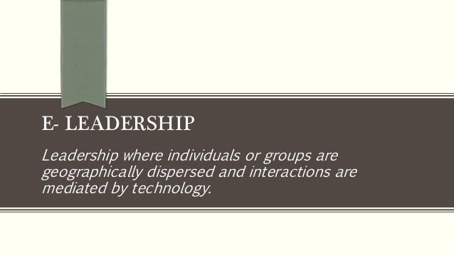 Research paper about leadership