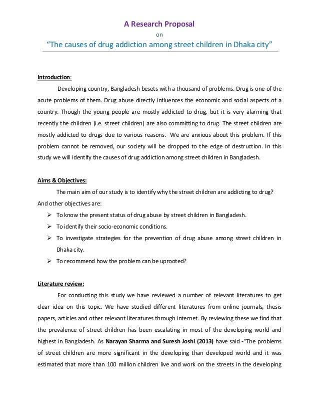 research proposal sample in bangladesh pdf