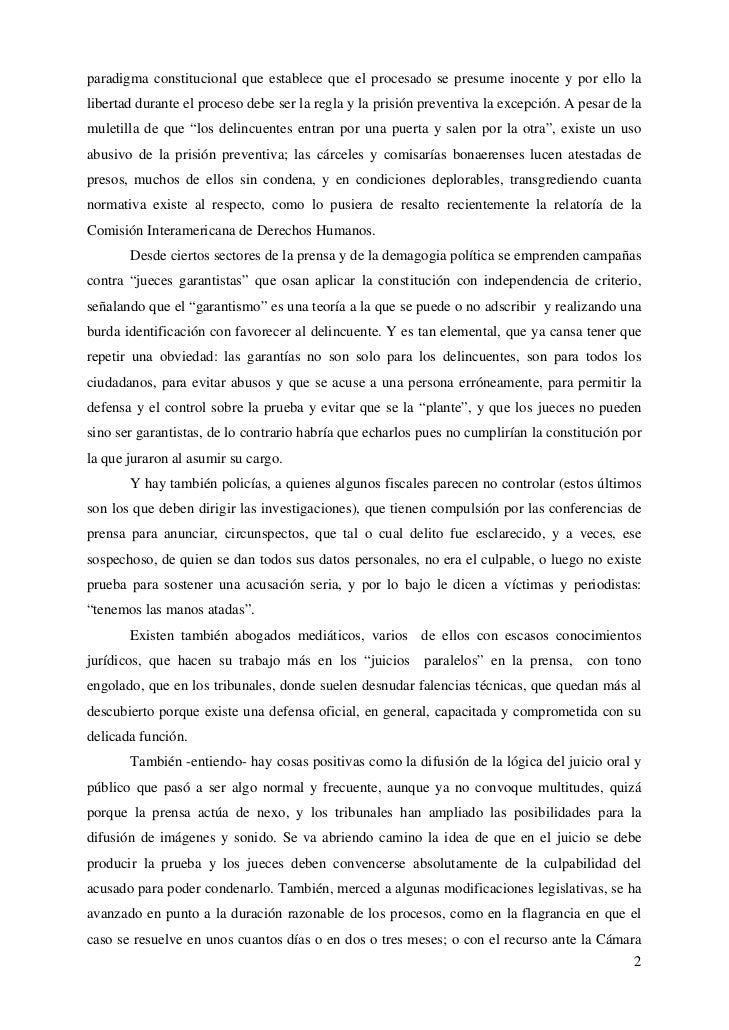 """Ares José Luis: """"Justicia Penal: una decada de luces y sombras"""" - 2010 Slide 2"""