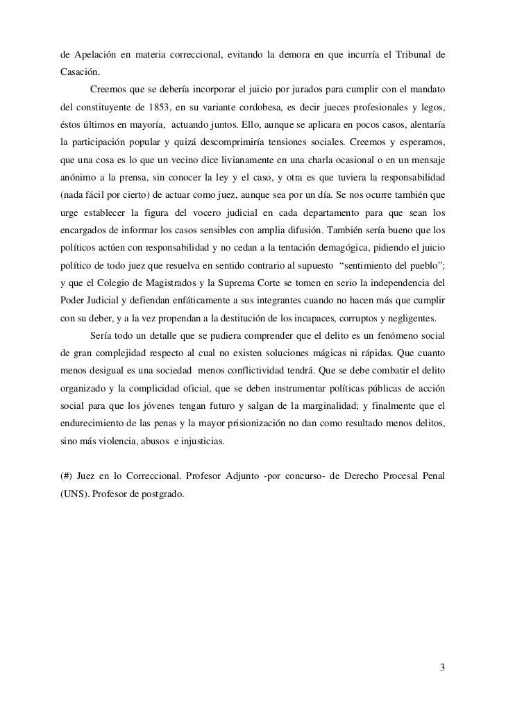 """Ares José Luis: """"Justicia Penal: una decada de luces y sombras"""" - 2010 Slide 3"""