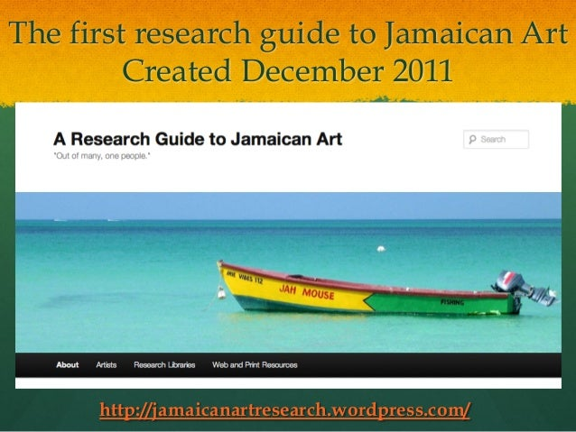 an introduction to the country of jamaica Jamaica country report 4 chapter 1 introduction jamaica has had  approximately 210 years of scientific investigation into jamaican agriculture  which has.