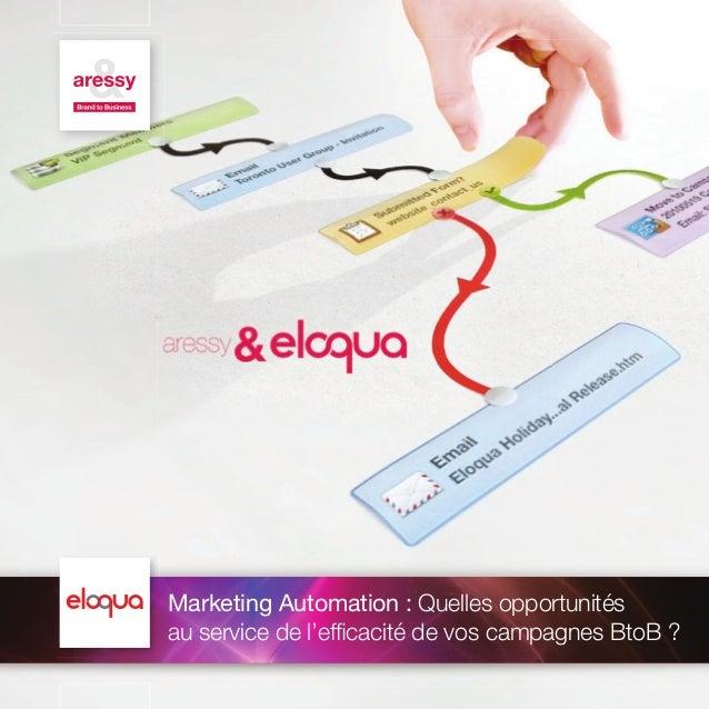 Marketing Automation : Quelles opportunités au service de l'efficacité de vos campagnes BtoB ?