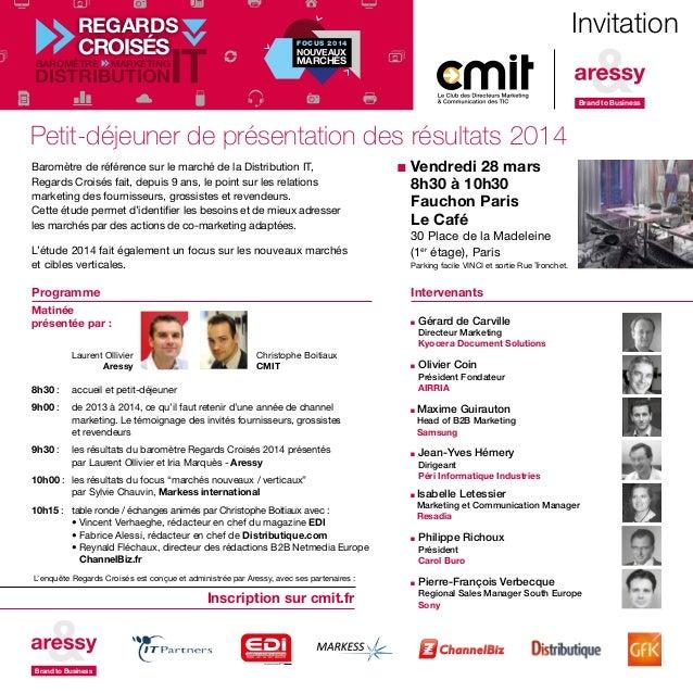 Intervenants n Gérard de Carville Directeur Marketing Kyocera Document Solutions n Olivier Coin Président Fondateur AIRRIA...