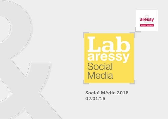 Social Média 2016 07/01/16